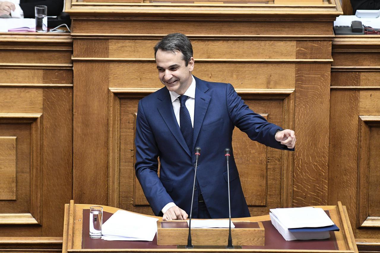 Κυριάκος Μητσοτάκης, πρόεδρος της Νέας Δημοκρατίας (Φωτογραφία: Eurokinissi)