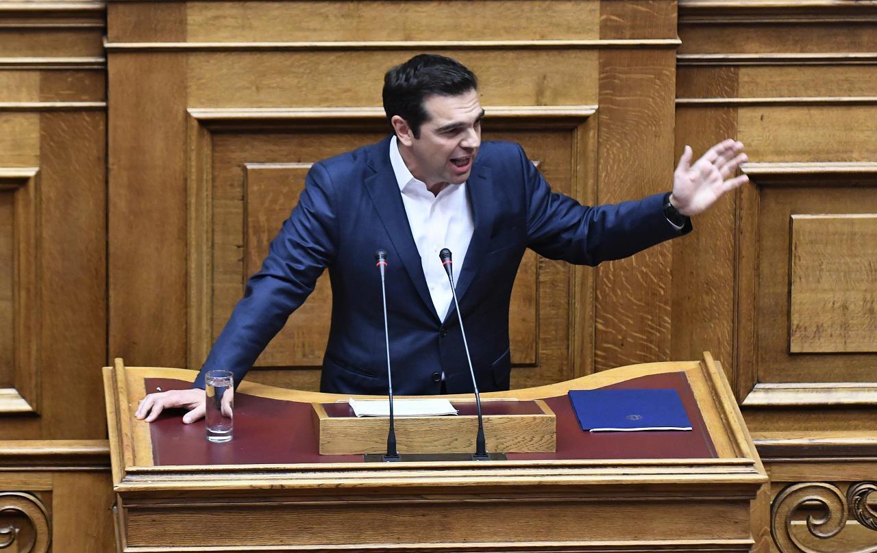 Ο πρωθυπουργός Αλέξης Τσίπρας (Φωτογραφία: Eurokinissi)