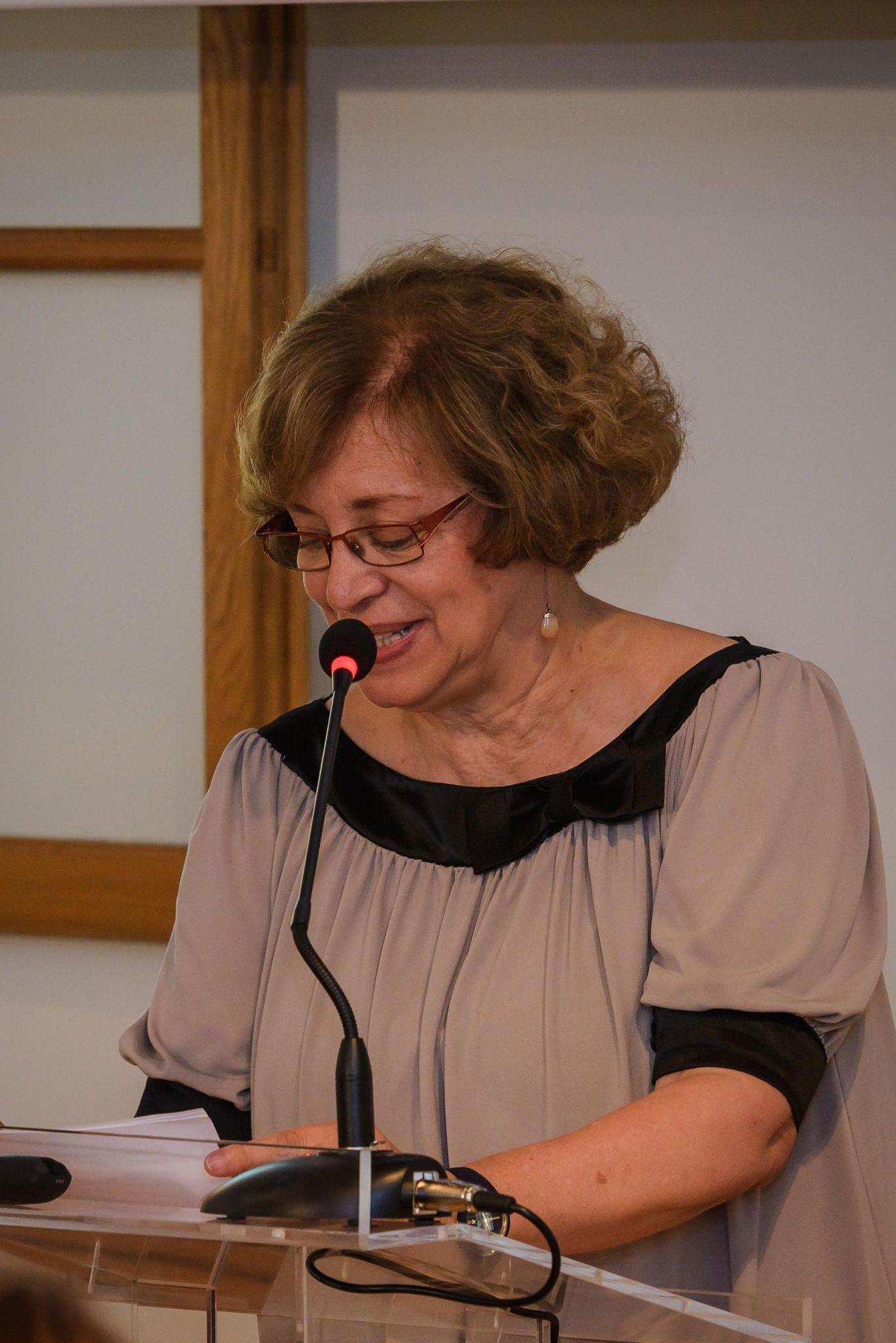 η Γενική Γραμματέας του Υπουργείου Πολιτισμού και Αθλητισμού, κ. Μαρία Ανδρεαδάκη-Βλαζάκη.