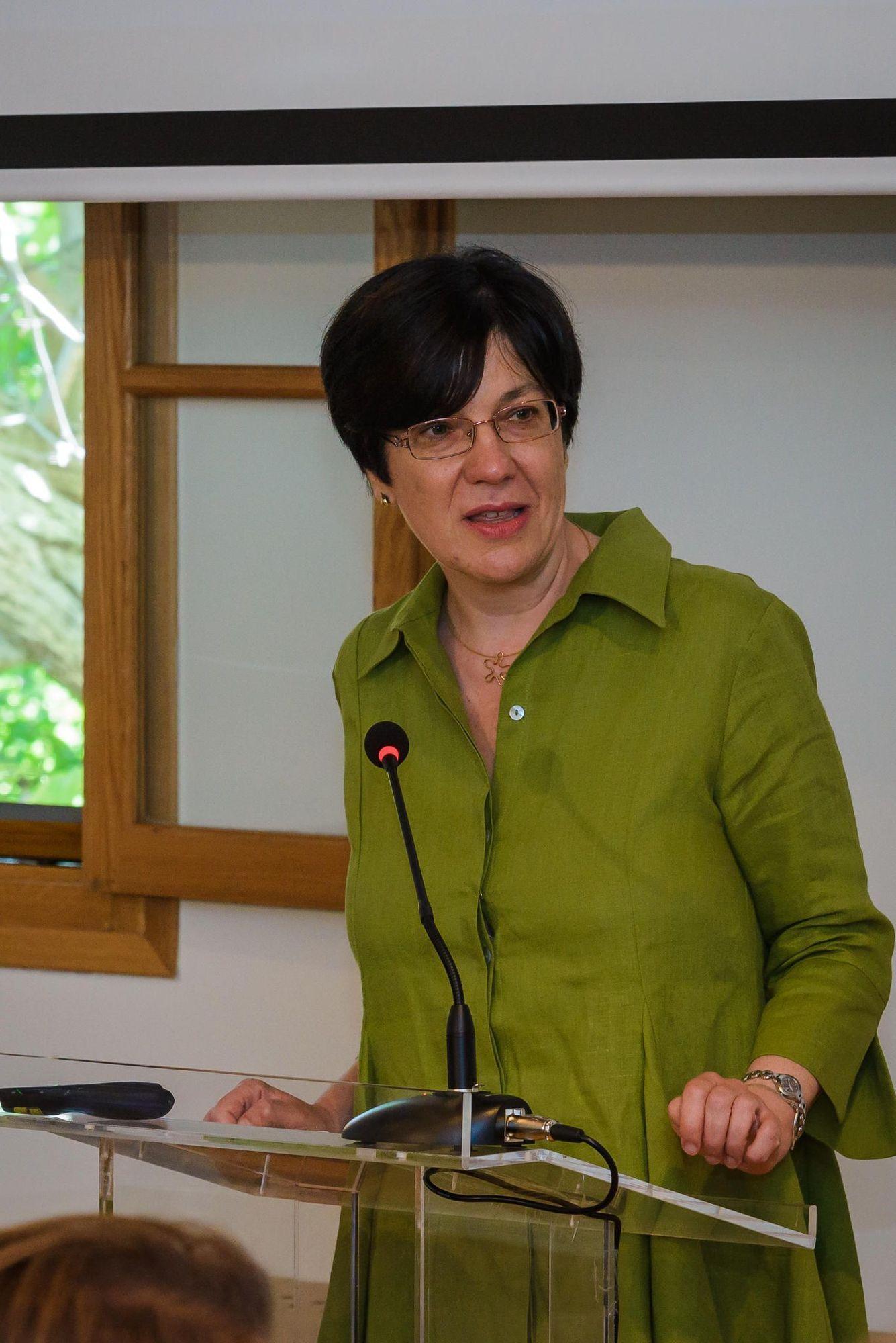 Η Πρόεδρος του Ελληνικού Τμήματος ICOM, κ. Αλεξάνδρα Μπούνια.