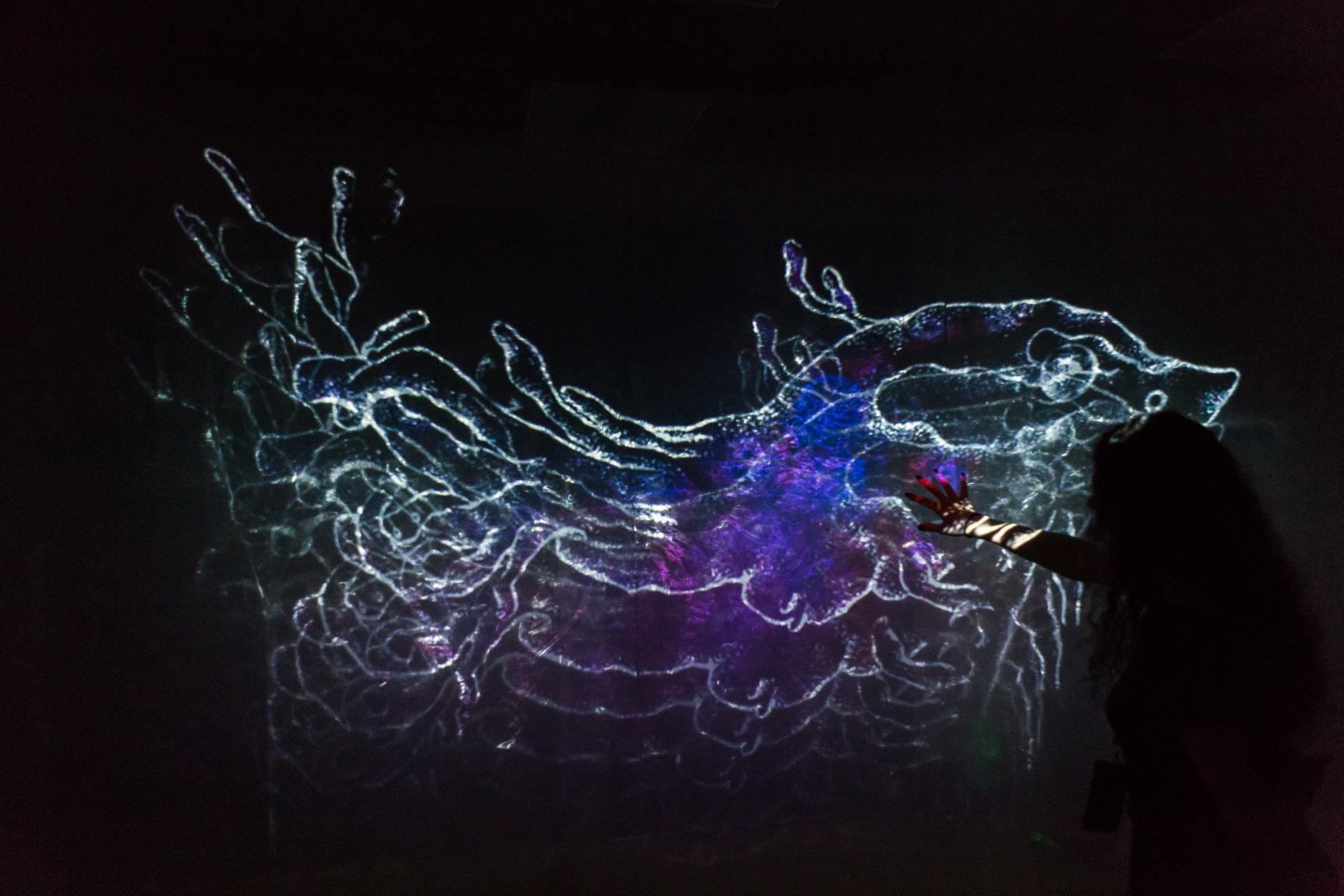 Κάποιες από τις ψηφιακές δημιουργίες του φεστιβάλ