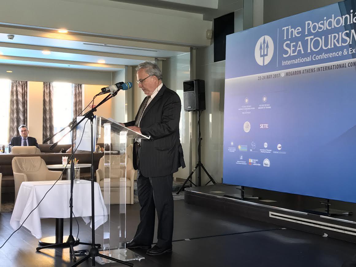Θεόδωρος Κόντες, Πρόεδρος της Ένωσης Εφοπλιστών Κρουαζιεροπλοίων και Φορέων Ναυτιλίας (ΕΕΚΦΝ)