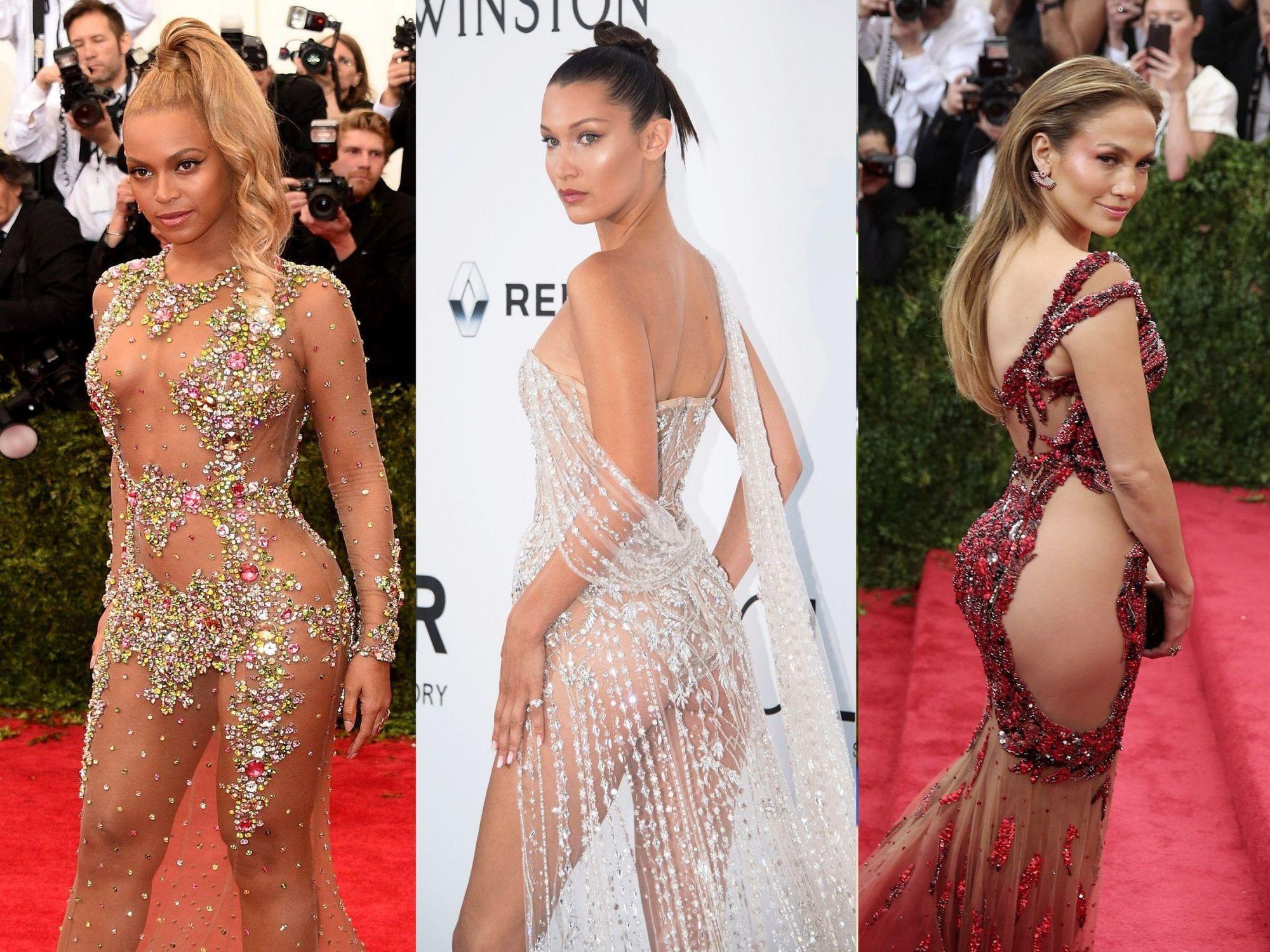 Αυτά είναι τα 15 πιο «γυμνά» φορέματα που έχουν φορεθεί από τις celebrities !!! (ΦΩΤΟ)