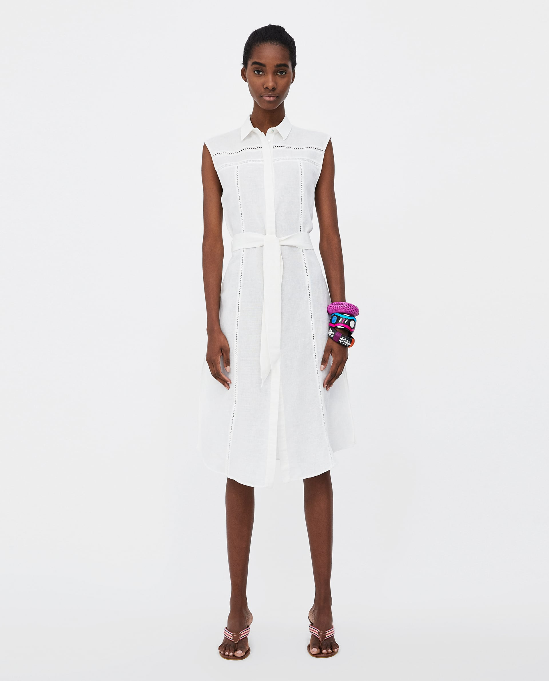 e47dcbca341 ZARA: 10+1 λευκά φορέματα για το καλοκαίρι | Economy 365