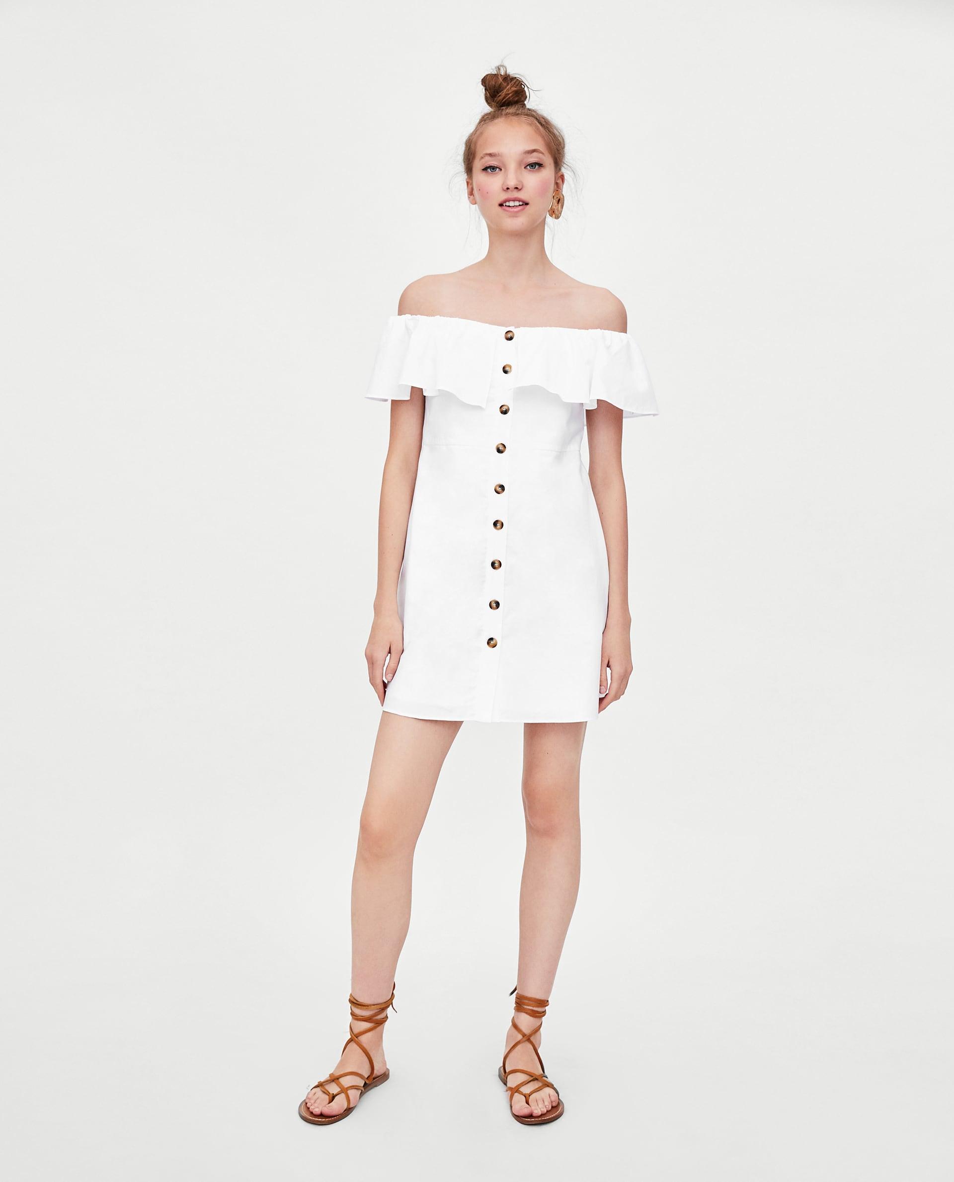cf91dcad587c ZARA  10+1 λευκά φορέματα για το καλοκαίρι