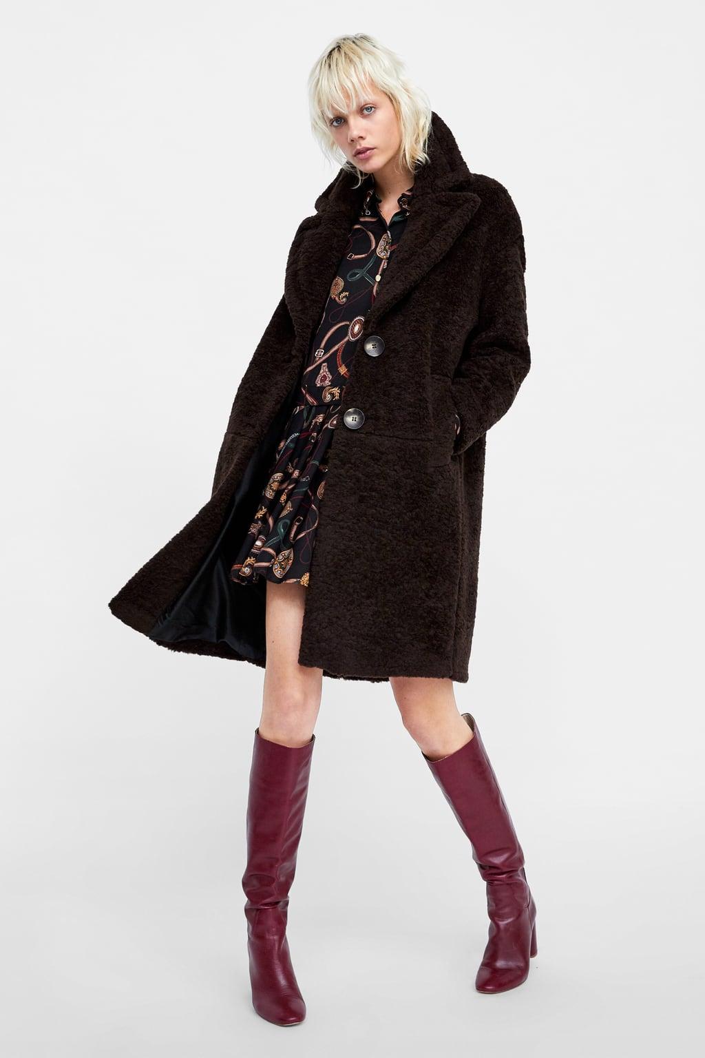 ZARA  10+1 υπέροχα παλτό που θα σας κρατήσουν ζεστές και στυλάτες ... 91ad383a4b8