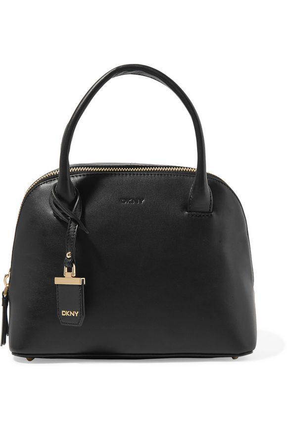 Δερμάτινη μικρή τσάντα tote – DKNY Τιμή λιανικής πώλησης  344.00 € Τιμή  ενοικίασης   40.00 € d08faf3b607